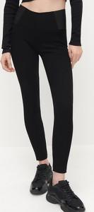 Czarne legginsy Reserved w stylu casual