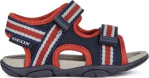 Buty dziecięce letnie Geox na rzepy dla chłopców