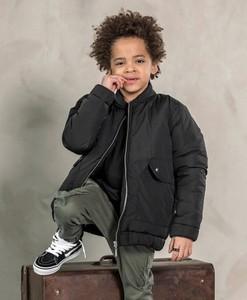 Czarna kurtka dziecięca Mashmnie dla chłopców