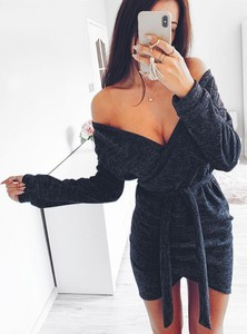 Sukienka Pakuten mini z tkaniny