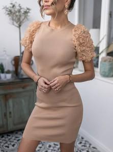 Sukienka SELFIEROOM mini w stylu casual dopasowana