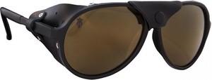 Okulary przeciwsłoneczne Apex Majesty (czarno-brązowe)
