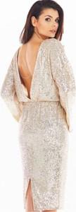 Złota sukienka Awama