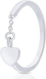 Pierścionek srebrny W.KRUK SHX/PS043