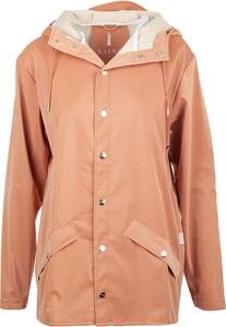 Pomarańczowa kurtka Rains