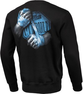 Bluza Pit Bull w młodzieżowym stylu z bawełny z nadrukiem