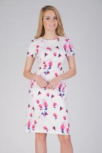 Sukienka QUIOSQUE mini z krótkim rękawem
