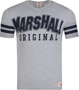 T-shirt Marshall Orginal w młodzieżowym stylu z krótkim rękawem
