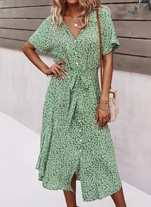 Zielona sukienka Sandbella midi