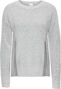 Szary sweter bonprix bodyflirt bez wzorów
