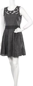 Czarna sukienka Women Dept mini rozkloszowana