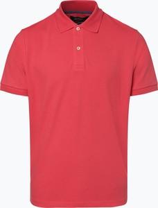 Czerwona koszulka polo Mc Earl z krótkim rękawem