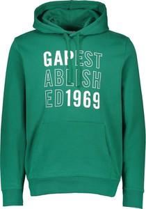 Zielona bluza Gap z bawełny