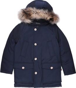 Niebieska kurtka dziecięca Woolrich