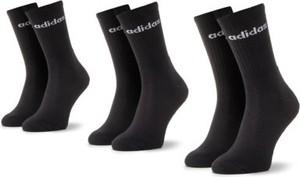 Czarne skarpetki Adidas