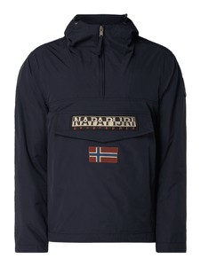 Niebieska kurtka Napapijri w sportowym stylu
