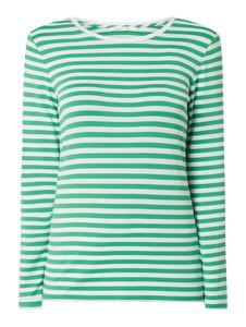 Zielona bluzka Joseph Janard z długim rękawem z okrągłym dekoltem