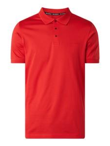 Czerwona koszulka polo Karl Lagerfeld z krótkim rękawem