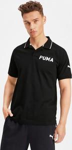 Koszulka polo Puma z bawełny z krótkim rękawem