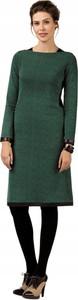 Sukienka Inna w stylu casual z długim rękawem