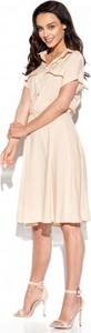 Sukienka Lemoniade z kołnierzykiem koszulowa z krótkim rękawem