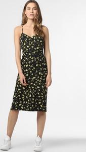 Sukienka Calvin Klein midi z dekoltem w kształcie litery v