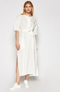 Sukienka MaxMara w stylu casual z długim rękawem maxi