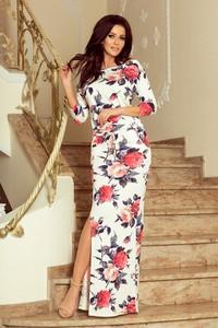 9788e575d7 Sukienka Moda Dla Ciebie z okrągłym dekoltem w sportowym stylu