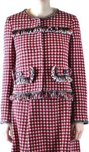 Czerwona kurtka Moschino z bawełny w stylu casual