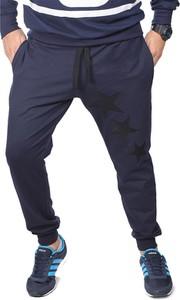 Spodnie sportowe neidio.pl w sportowym stylu z bawełny