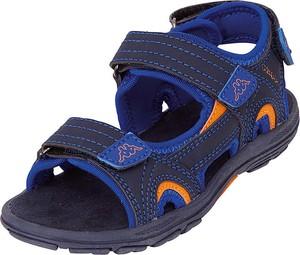 Buty dziecięce letnie Kappa dla chłopców ze skóry