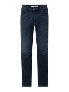 Granatowe jeansy Tom Tailor z bawełny