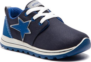 Granatowe buty sportowe dziecięce Primigi