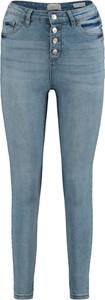 Niebieskie jeansy Emp z bawełny w stylu casual