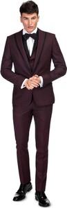 Czerwony garnitur Giacomo Conti
