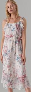 Sukienka Mohito midi na ramiączkach w stylu boho