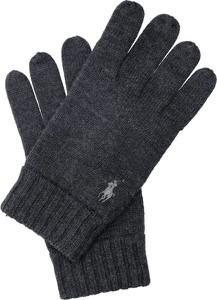 Granatowe rękawiczki POLO RALPH LAUREN