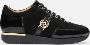 Buty sportowe Kazar sznurowane z zamszu