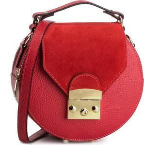 Czerwona torebka Creole na ramię