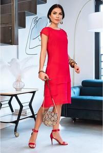 Czerwona sukienka Semper