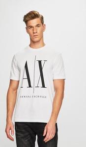 T-shirt Armani Jeans z dzianiny