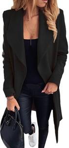 Czarny płaszcz Sandbella w stylu casual