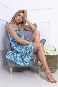 Sukienka Fobya mini na ramiączkach w stylu casual