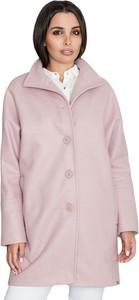 Różowy płaszcz Figl