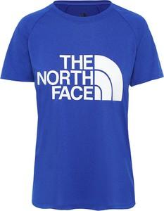 Bluzka The North Face z bawełny z krótkim rękawem