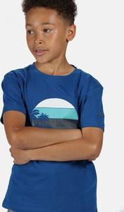 Koszulka dziecięca Regatta dla chłopców z dżerseju