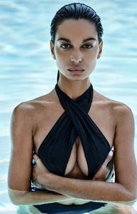 Czarny strój kąpielowy Obsessive
