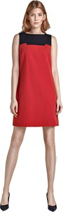 Pomarańczowa sukienka Nife mini bez rękawów