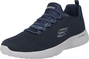 Buty sportowe Skechers w sportowym stylu sznurowane