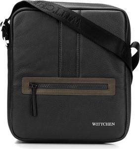 Czarna torebka Wittchen z tkaniny
